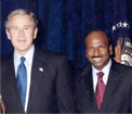 President Bush and Dr. Manchikanti
